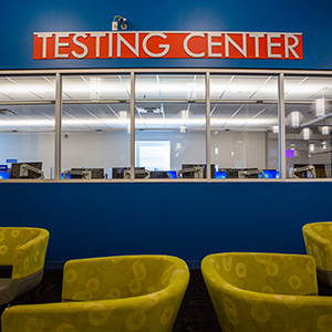 Montgomery County Community College testing center