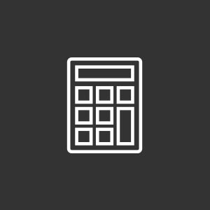 Icon of a calculator