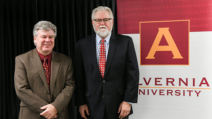 The College's University Center welcome Alvernia University as a new partner.