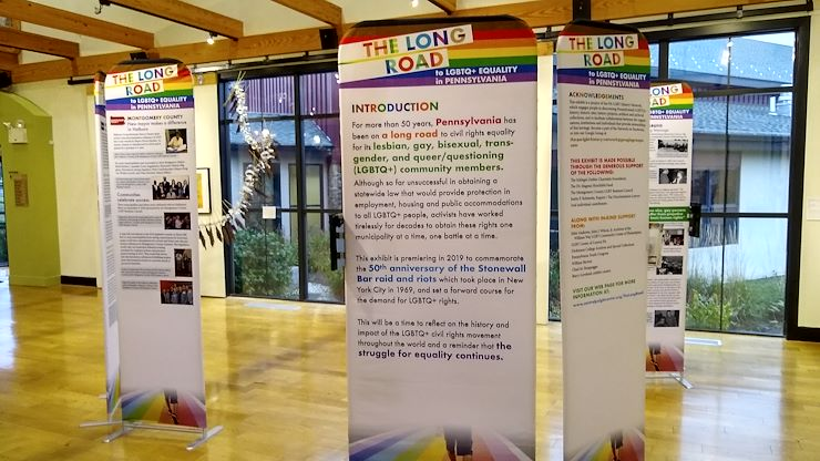 MCCC will host the Long Road to LGBTQ+ Equality in PA, a traveling panel exhibition.