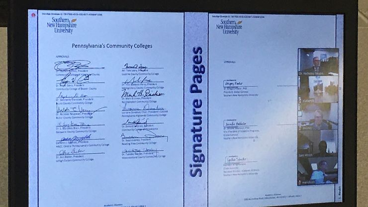 14 signatures