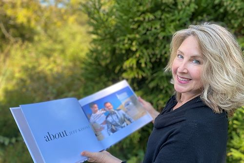 Denise Walsh shows your new book