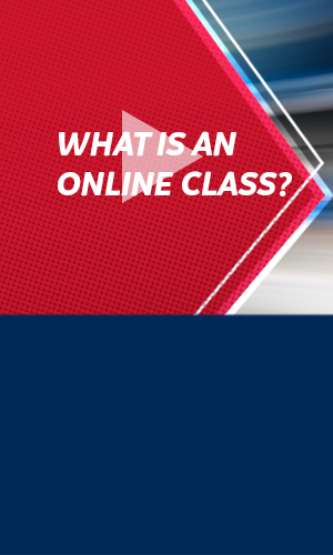 How-to video: What is an online class?