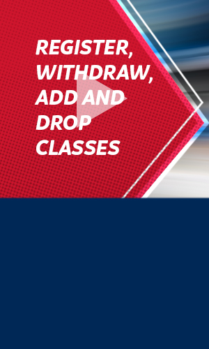 How-to video: Register, Withdraw, Add & Drop Classes