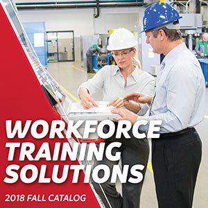 Workforce Training Solutions Fall Catalog cover image